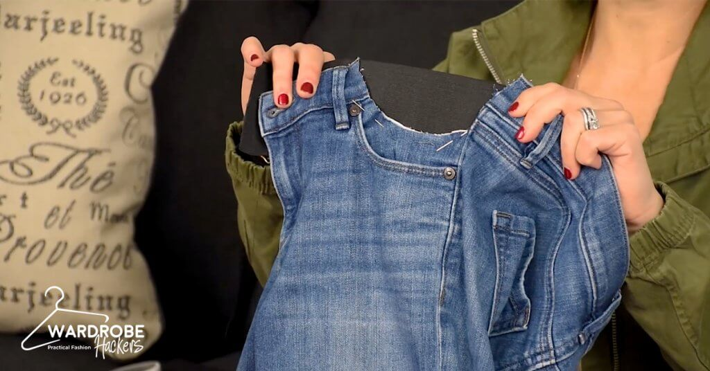 How to Make Your Own DIY Maternity Jeans