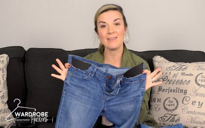 How to Make Your Own (DIY) Maternity Jeans for Under $7 (Watch Video)