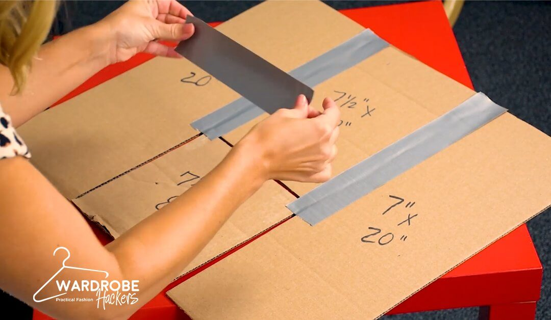 Make Your Own Kids Shirt Folding Board for Super Cheap