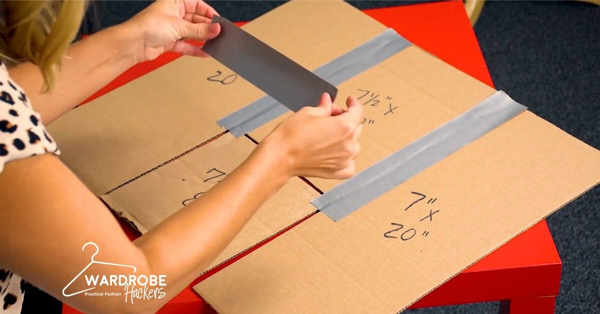 DIY Shirt Folding Board