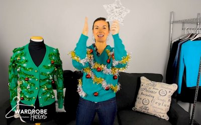 How to Make Your Own Ugly Christmas Sweater (Watch Video)