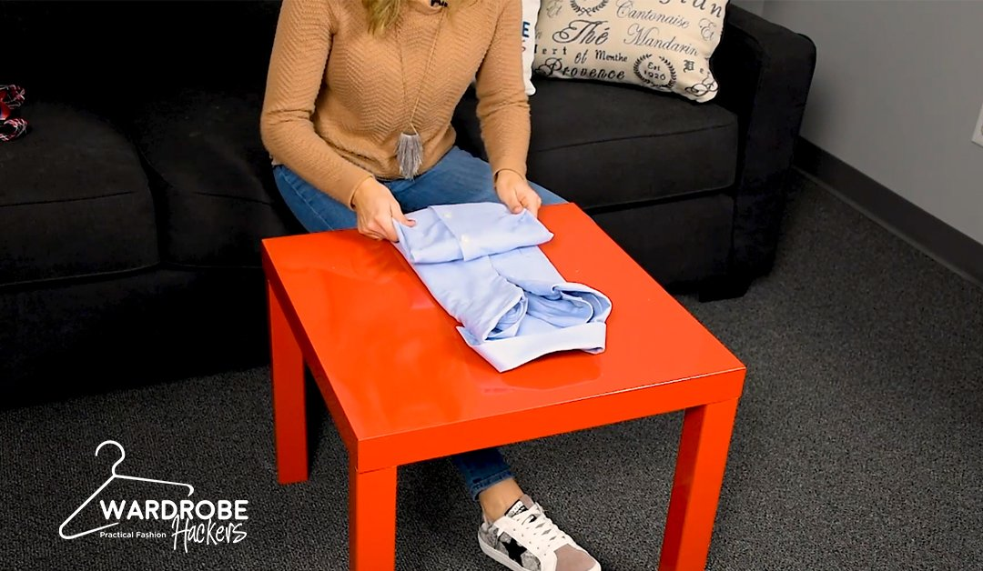 How to Fold a Dress Shirt – The Easy Way (Watch Video)