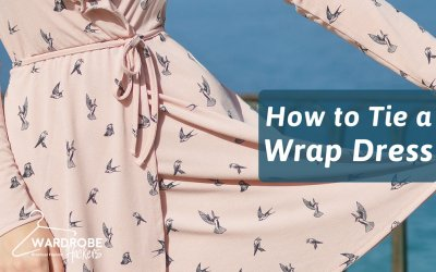 How to Tie a Wrap Dress In Under 60 Seconds